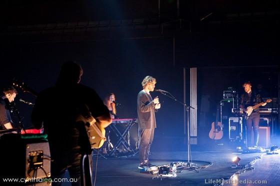 MATT CORBY at QPAC, Brisbane - April 20, 2016 Photographer:  Cynthia Lee