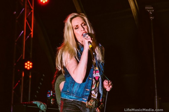 Cherie Currie at The Triffid, Brisbane - May 26, 2016 Photographer: Charlyn Cameron