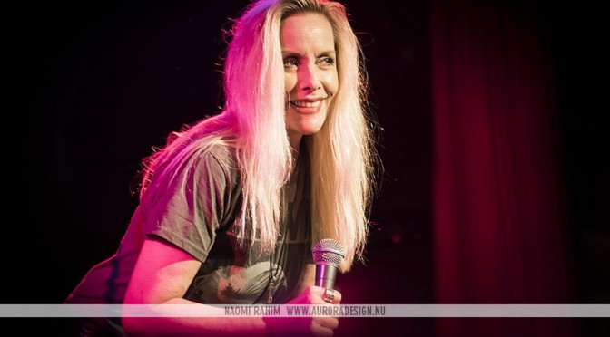 Cherie Currie at The Corner Hotel, Melbourne - May 28, 2016 Photographer: Naomi Rahim - http://auroradesign.nu/
