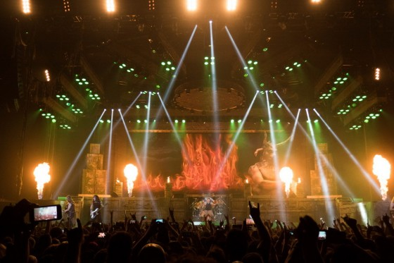 Iron Maiden at Brisbane Entertainment Centre - May 4, 2016 Photographer: Stephen Goodwin
