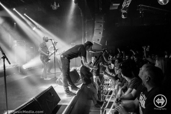 Millencolin at 170 Russell, Melbourne on May 2, 2016 Photographer: Matt Holliday