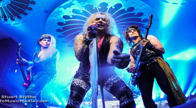 Steel Panther at Eatons Hill Hotel, Brisbane - June 20, 2016
