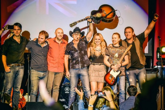 Lee Kernaghan + The Wolfe Brothers + Christie Lamb at Doyalson RSL - June 12, 2016 Photographer: David Jackson