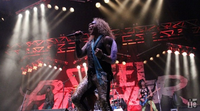 Live Review : Steel Panther + Black Stone Cherry at Metro City, Perth – June 23, 2016