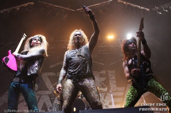 Steel Panther at Metro City, Perth - June 23, 2016 Photographer: Peter Coates