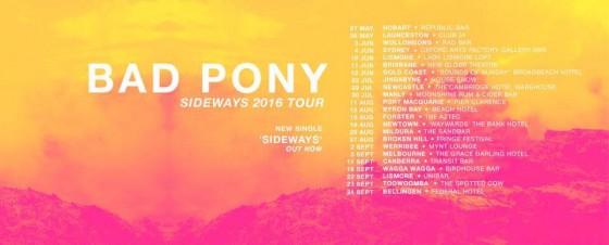 bad pony tour