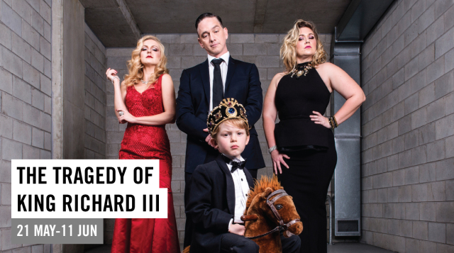Theatre Review : The Tragedy of King Richard III – Roundhouse Theatre, Brisbane