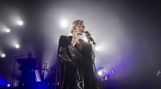 Broods at The Tivoli, Brisbane - July 8, 2016 Photographer: Rebecca Reid