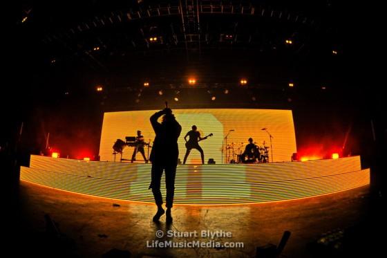 Bring Me The Horizon at Riverstage, Brisbane - 16 September 2016 Photographer: Stuart Blythe