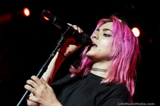 Hey Violet at Riverstage, Brisbane - 2 October 2016 Photographer: Krista Melsom