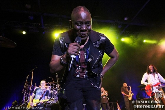 EARTH WIND & FIRE at Asia Expo, Hong Kong - 24 September 2016 Photographer: Peter Coates