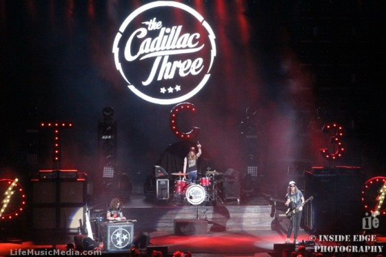 THE CADILLAC THREE at Go Fest 2016, Irvine Meadows Amphitheatre, Irvine California USA - 8 October 2016 Photographer: Peter Coates - Inside Edge Photography