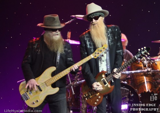 ZZ Top at The Pearl Concert Theatre - Palms Casino, Las Vegas - 8 October 2016 Photographer: Peter Coates