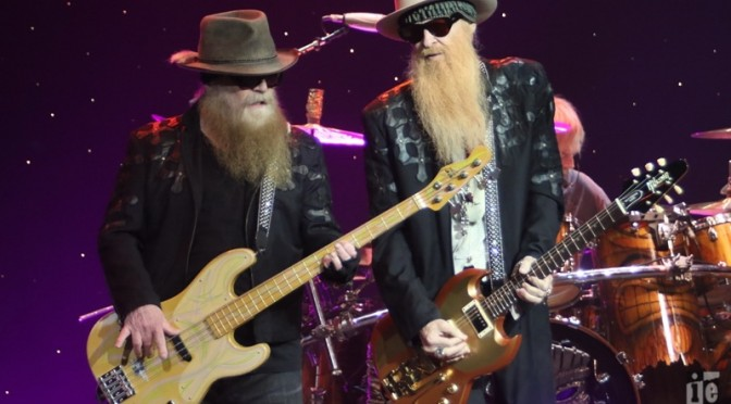 Photo Gallery : ZZ TOP + Kenny Wayne Shepherd at The Pearl Concert Theatre, Las Vegas – 8 October 2016