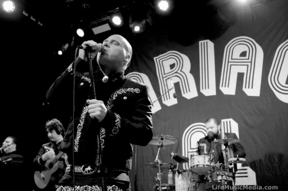 Mariachi El Bronx at Manning Bar, Sydney - 2 November 2016 Photographer: Meghan Player