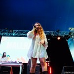 Mallrat at Falls Festival, Lorne 2016 - Day 1 (28 December 2016)