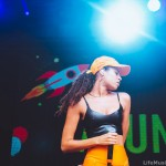 AlunaGeorge at Falls Festival, Lorne 2016 - Day 2 (29 December 2016) Photographer: Ruby Boland