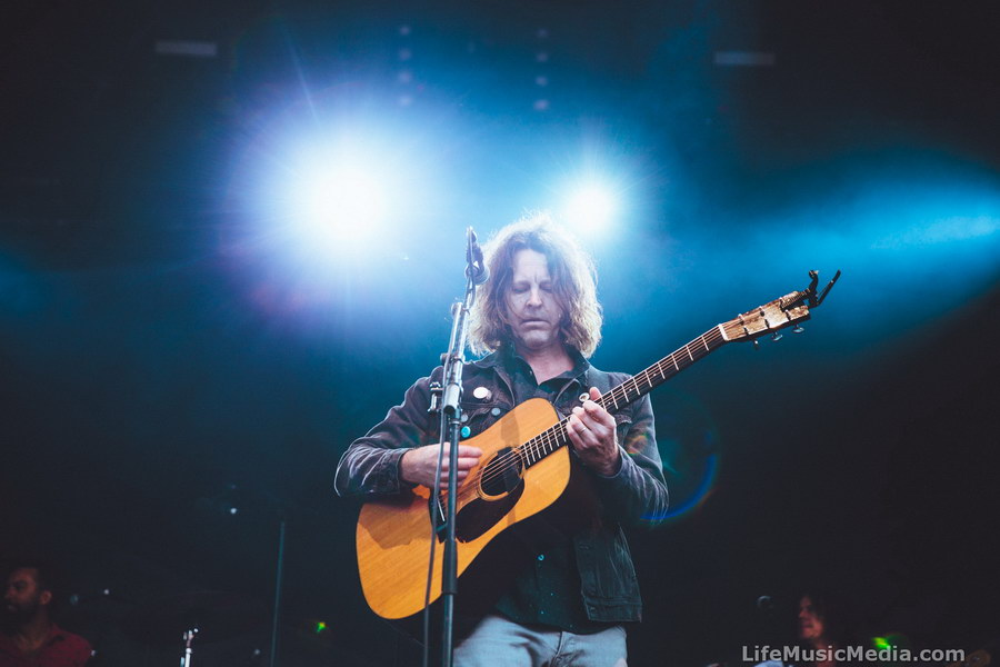 Bernard Fanning playing at Falls Festival - Lorne 2016 Photographer: Ruby Boland