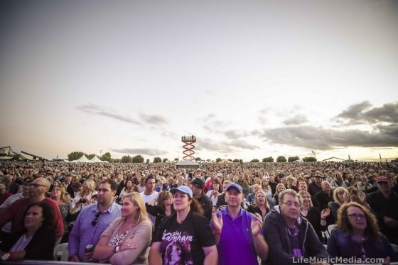 Crowd at A Day On The Green, Mitchelton Wines, Nagambie - 18 February 2017 Photographer: David Jackson