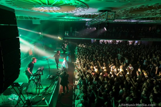 Underoath at Eatons Hill Hotel, Brisbane – 10 February 2017 Photographer: Josh Woning