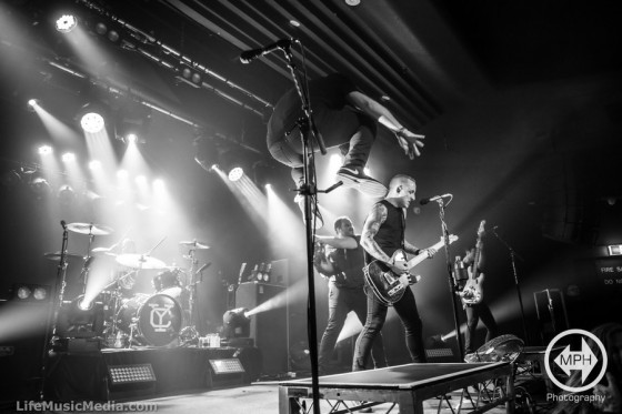Yellowcard at Max Watt's, Melbourne - 23 February 2017 Photographer: Matt Holliday