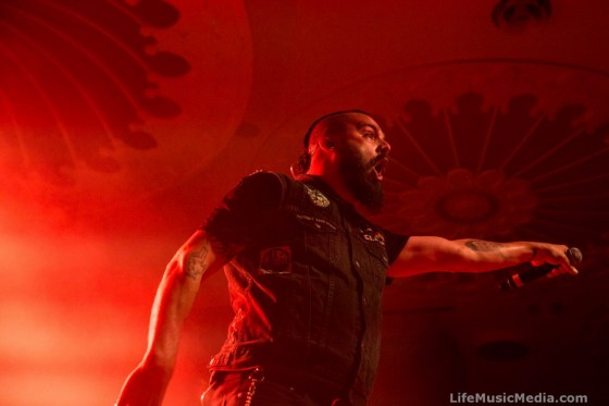 Killswitch Engage at Eatons Hill Hotel, Brisbane – 4 March 2017 Photographer: Krista Melsom
