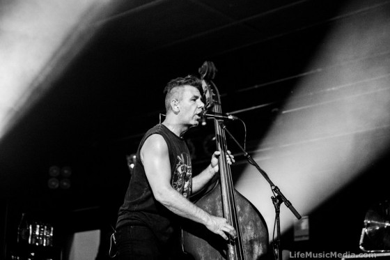 The Living End at Waves - Towradgi Beach Hotel, Wollongong - 9 March 2017 Photographer: Ruby Boland
