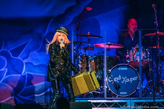 Cyndi Lauper at A Day on the Green - Rochford Wines Yarra Valley - 8 April 2017 Photographer: David Jackson