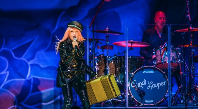 Photo Gallery : Cyndi Lauper at A Day on the Green – Rochford Wines Yarra Valley – 8 April 2017