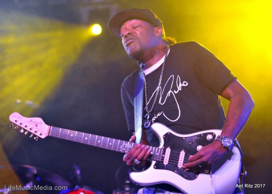 Eric Gales at Bluesfest Byron Bay 2017 Photographer: Ant Ritz