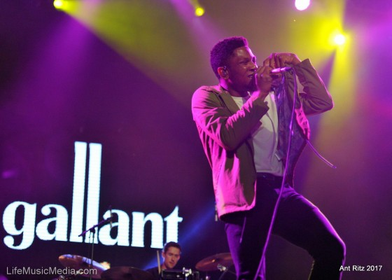 Gallant at Bluesfest Byron Bay 2017 Photographer: Ant Ritz