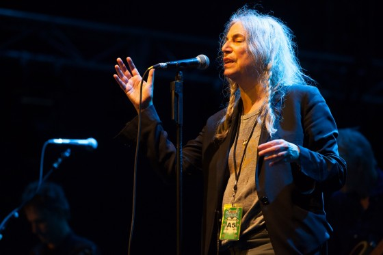 Patti Smith at Bluesfest Byron Bay 2017 Photographer: Nathan David Kelly