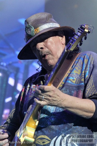 Santana at Qudos Bank Arena, Sydney - 13 April 2017 Photographer: Peter Coates