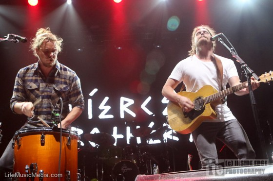 Pierce Brothers at Margaret Court Arena, Melbourne - 19 April 2017 Photographer: Peter Coates