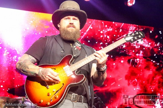 Zac Brown Band at Margaret Court Arena, Melbourne - 19 April 2017 Photographer: Peter Coates
