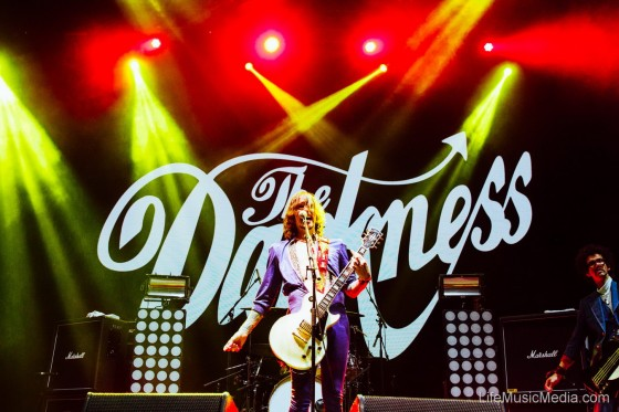 The Darkness at Groovin The Moo – Canberra 2017 Photographer: Ruby Boland