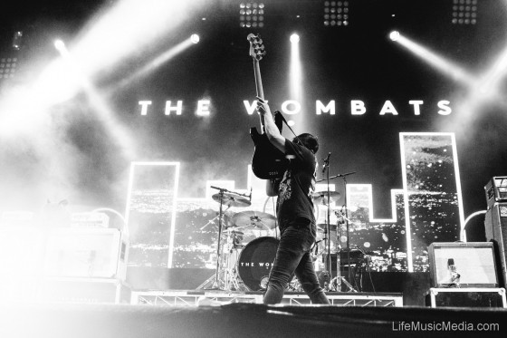 The Wombats at Groovin The Moo – Canberra 2017 Photographer: Ruby Boland