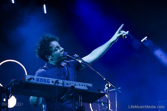 The Wombats at Brisbane Riverstage - 1 May 2017 Photographer: Rebecca Reid
