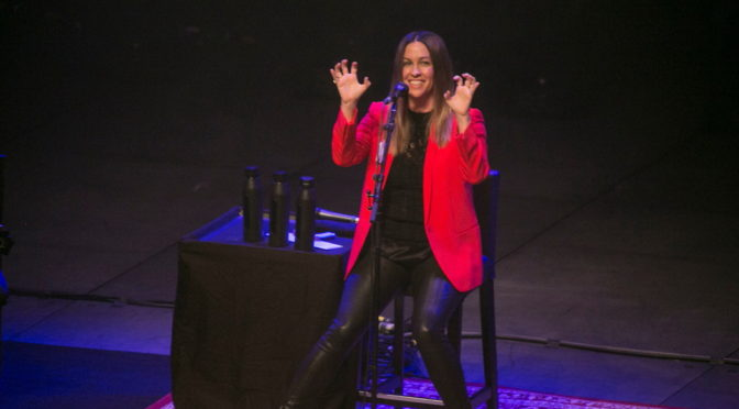 Photo Gallery : ALANIS MORISSETTE at ICC Sydney Theatre – 24 January 2018
