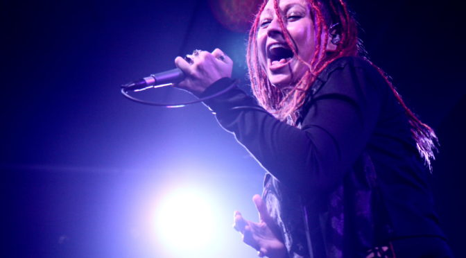 Photo Gallery : Crystal Ignite + Kvlts of Vice + Mechanical Embrace at The Bald Faced Stag, Sydney on 16 March 2018