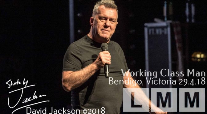 Live Review: Jimmy Barnes at Ulumbarra Theatre, Bendigo VIC – 29 April 2018