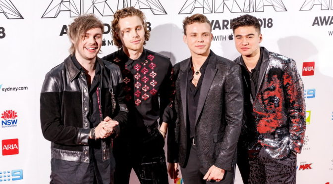 Photo Gallery : 2018 ARIA AWARDS – RED CARPET – 28 November 2018