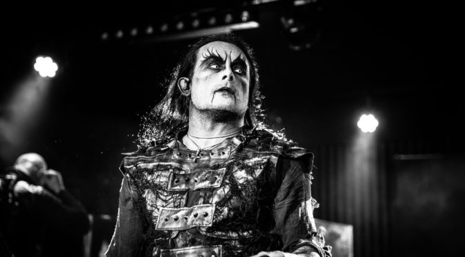 Photo Gallery : Cradle Of Filth at The Basement, Canberra – 10 September 2019