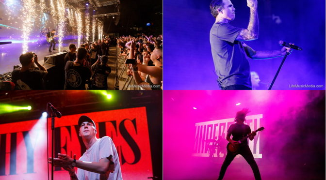 Live Review : THE AMITY AFFLICTION – 'Heaven and Hell', Brisbane Riverstage – 14 September 2019