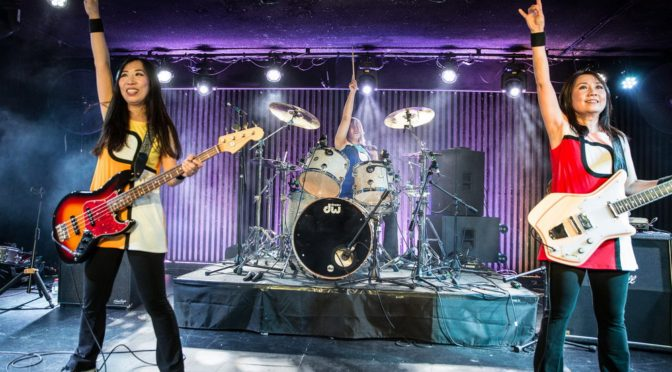 Photo Gallery : Shonen Knife at The Basement, Canberra – 24 October 2019