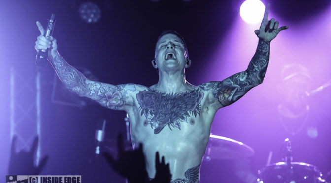 Photo Gallery : ATREYU + Ocean Sleeper + From Crisis To Collapse at The Zoo, Brisbane – 26 February 2020
