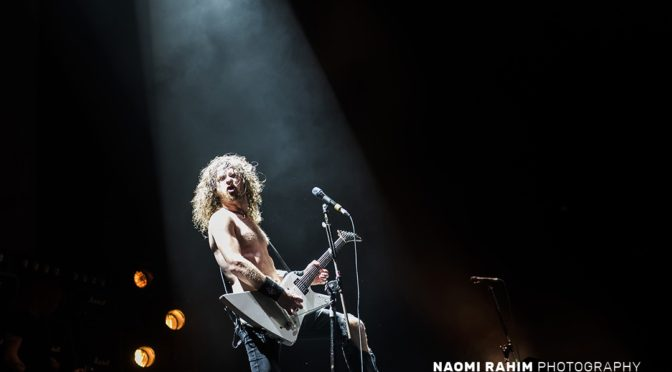 Photo Gallery : Airbourne + MC50 at Rod Laver Arena, Melbourne – February 14, 2020